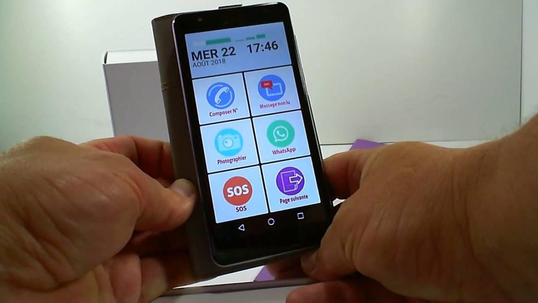 Quel est meilleur smartphone pour sénior ?