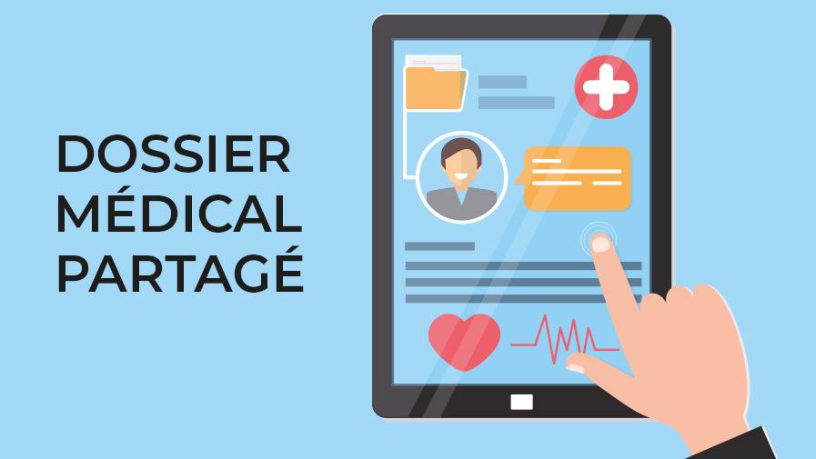 Le dossier médical partagé, outil efficace pour les Seniors