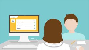 le dossier médical partagé est un carnet de santé numérique, particulièrement utile pour les seniors et les personnes âgées