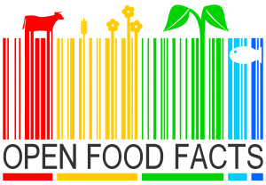 base de données application alimentaire open food facts