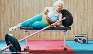 Le sport à domicile pour le maintien en forme des personnes âgées et des senioras actifs