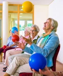 Les personnes âgées et les ateliers en ehpad
